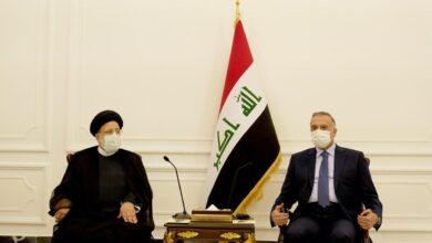 Photo of رئيس مجلس الوزراء السيد مصطفى الكاظمي يستقبل رئيس السلطة القضائية الإيرانية السيد إبراهيم رئيسي
