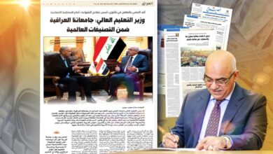 Photo of وزير التعليم العالي: جامعاتنا العراقية ضمن التصنيفات العالمية