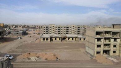 Photo of وزارة الاعمار تواصل تنفيذ مشروع مجمع الجزيرة (2) السكني في محافظة كربلاء المقدسة