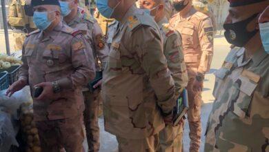 Photo of بالصور.. قائد عمليات بغداد يتجول في قضاء الطارمية شمال بغداد