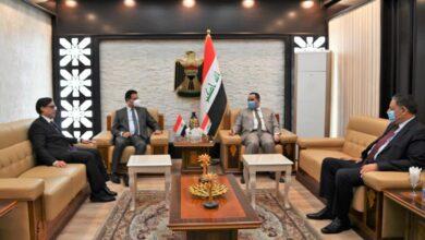 Photo of وزير التجارة …يستقبل السفير المصري الجديد لدى العراق ويبحث معه سبل تعزيز العلاقات المشتركة بين البلدين