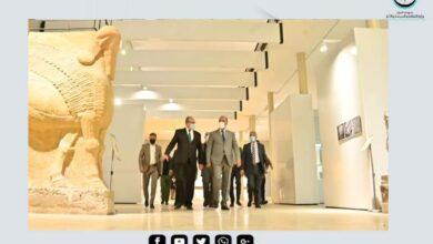 Photo of وزير الثقافة يفتتح معرضاً للقى أثرية مكتشفة حديثاً في هيأة الآثار والتراث