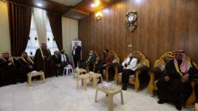 Photo of وزيرة الهجرة تعقد مؤتمر صلح عشائري لإنهاء أزمة نازحي ناحية الخالدية