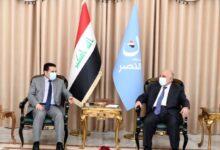 Photo of مستشار الأمن القومي السيد قاسم الأعرجي يلتقي زعيم ائتلاف النصر الدكتور حيدر العبادي